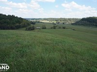 2,417 Acre Working Cattle Farm : Lynnville : Giles County : Tennessee