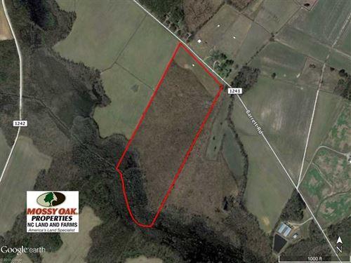 40 Acres of Farm And Timber Land : Farmville : Pitt County : North Carolina