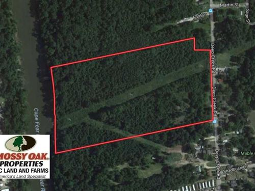 29.57 Acres of Riverfront Developm : Fayetteville : Cumberland County : North Carolina