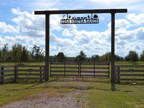 Highway 70 100 Acres : Arcadia : De Soto County : Florida