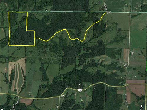 95 Acres Grouse Ave & Co Rd 385 : La Plata : Macon County : Missouri