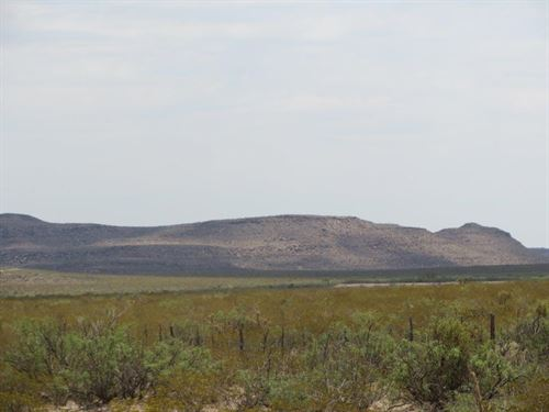 20 Ac Foreclosure Only $144/Mo : Sierra Blanca : Hudspeth County : Texas