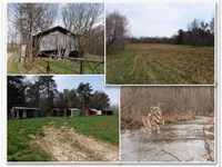 627.5 Ac, Creeks, Ponds, Barn, More : Whitleyville : Clay County : Tennessee