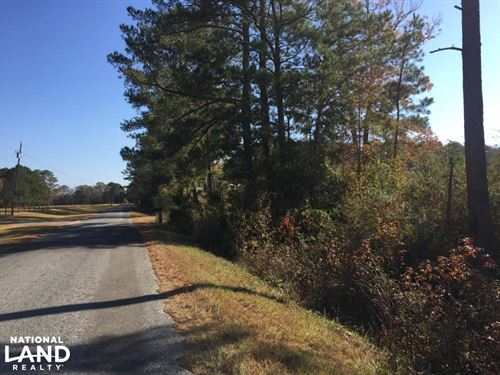 Greenville Homesite With Acreage : Greenville : Butler County : Alabama