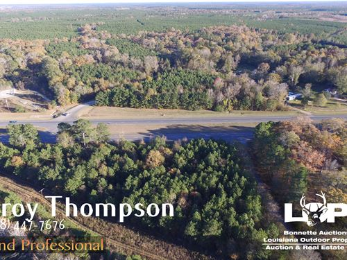 42.5+/- Acres Caldwell Parish : Kelly : Caldwell Parish : Louisiana