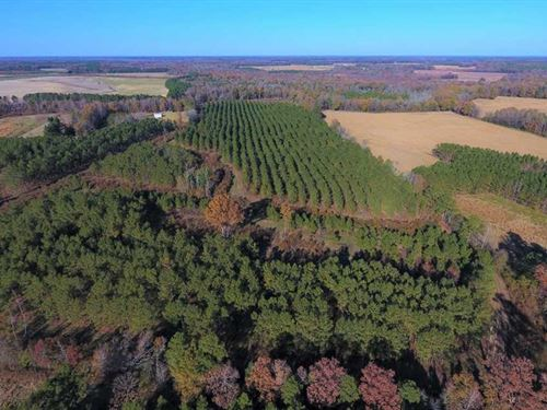 Under Contract, 70.53 Acres of Hu : Battleboro : Edgecombe County : North Carolina