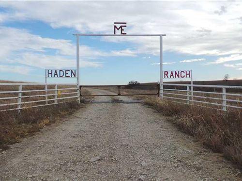 1249 Acre Haden Ranch For Sale in : Cedar Vale : Chautauqua County : Kansas
