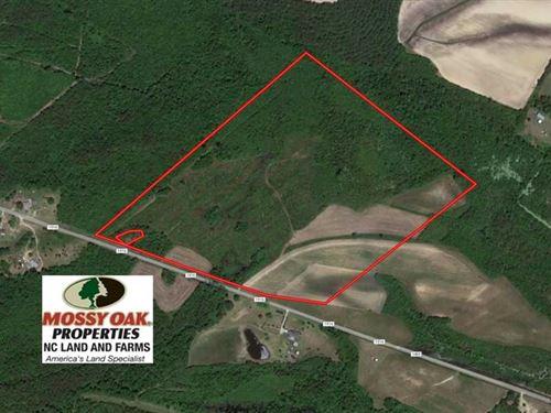 60 Acres of Farm Timber And Huntin : Grifton : Pitt County : North Carolina