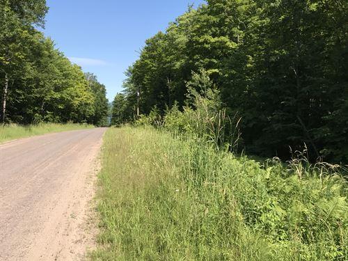 Aldrich Road : Tapiola : Houghton County : Michigan