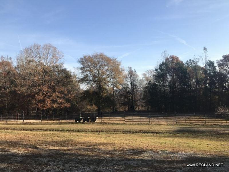 28 Ac - Cabin Home And Pasture : Arcadia : Claiborne Parish : Louisiana
