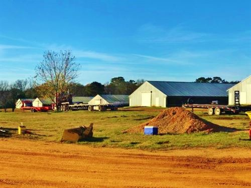 8 House Broiler Farm 90 Acres Mount : Mount Olive : Simpson County : Mississippi