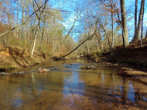 Hardwood, Pond, & River Frontag : Crawfordville : Taliaferro County : Georgia