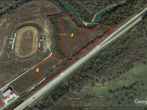 13 Acres For Sale in Poplar Bluff : Poplar Bluff : Butler County : Missouri