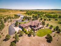 West Bijou Irrigated Ranch : Elbert : Elbert County : Colorado