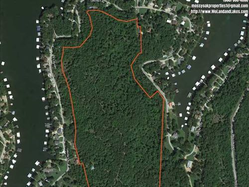 Lake of The Ozarks Gem 53 Acres WI : Climax Springs : Camden County : Missouri