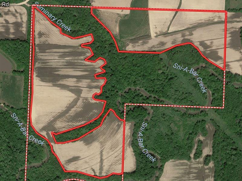 Recreational & Cropland For Sale : Oak Grove : Jackson County : Missouri