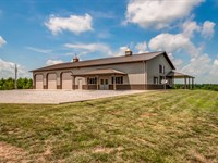 606 Acre Luxury Sportsman Retreat : Hampshire : Lewis County : Tennessee