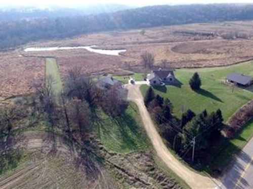Slice Of Heaven - 49 Acres : Barneveld : Iowa County : Wisconsin