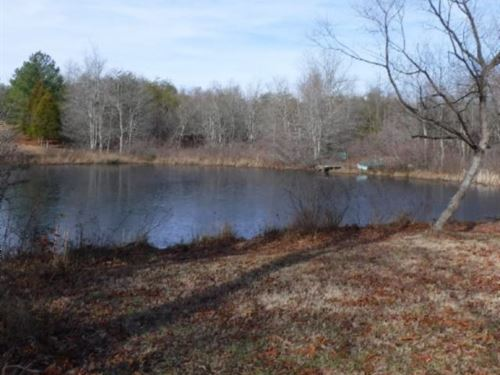 43.94 Ac W/5 To 6 Ac Lake, Wildlife : Crossville : Cumberland County : Tennessee