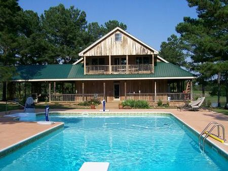 Lakefront Home W Pool On 50 Acres Farm For Sale