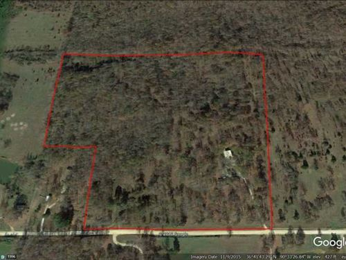 Home on 36 Acres in Butler County : Poplar Bluff : Butler County : Missouri