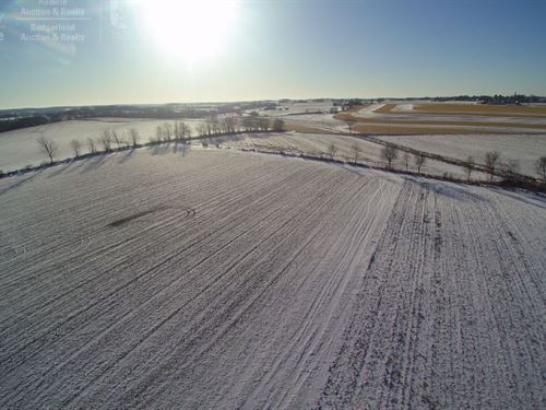 Prime Piece Of Farm Land : Allenton : Washington County : Wisconsin