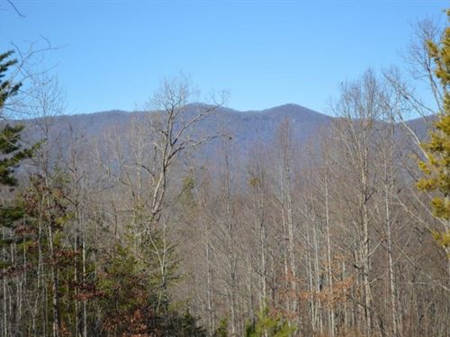 108.40 Acres With Mountain View : Pickens : South Carolina