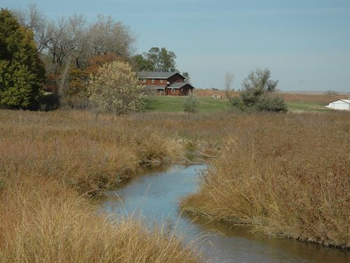Rock Creek Ranch In Todd County : Hidden Timber : Todd County : South Dakota