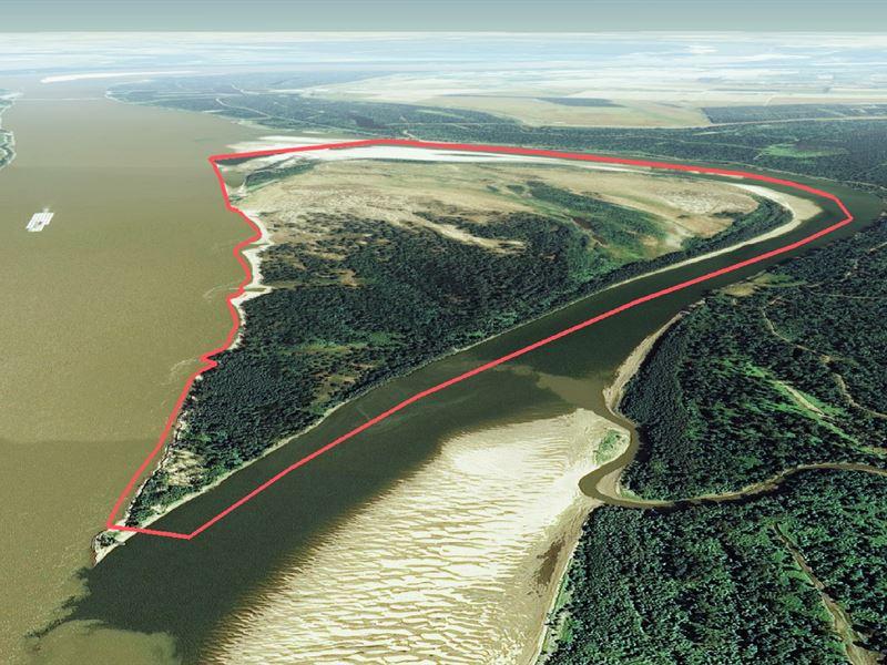 American Bar - Ms River Island : Lake Village : Chicot County : Arkansas