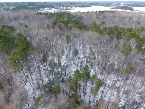 Under Contract, 26.89 Acres of Re : Pinetops : Edgecombe County : North Carolina