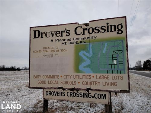 Drover's Crossing Development Plus : Mount Hope : Reno County : Kansas