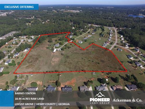 18.94 Acres Of Raw Land, Barnes : Locust Grove : Henry County : Georgia