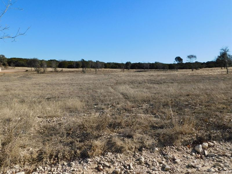 5 Acres With Great Homesite : Stephenville : Erath County : Texas