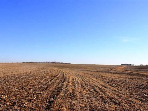 709 Ac M/L Absolute Farm Auction : Robinson : Brown County : Kansas