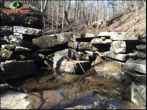 The Old Stone Wall Place- Huntin : Bethesda : Independence County : Arkansas