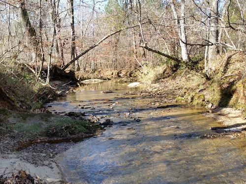 165+/- Acres Timberland : Alexander City : Tallapoosa County : Alabama
