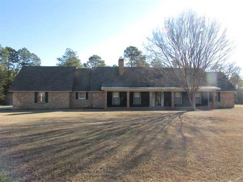 Perfect Country Home : Moultrie : Colquitt County : Georgia