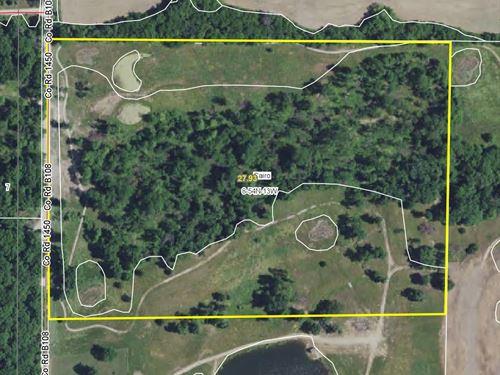28 Acres County Rd 1450 Randolph Co : Moberly : Randolph County : Missouri