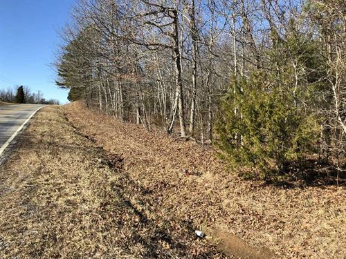 24.19 Acres on Hwy 254 Outside : Dennard : Van Buren County : Arkansas