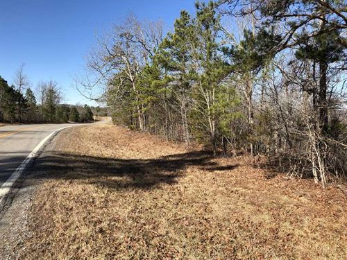 46.37 Acres on Hwy 254 Outside : Dennard : Van Buren County : Arkansas