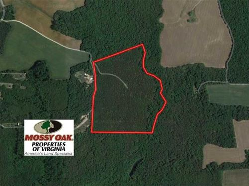 Under Contract, 55 Acres of Hunti : Milford : Caroline County : Virginia