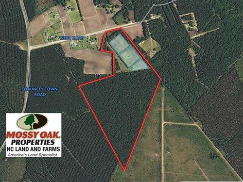 Under Contract, 49.82 Acres of Hu : Lake Waccamaw : Columbus County : North Carolina