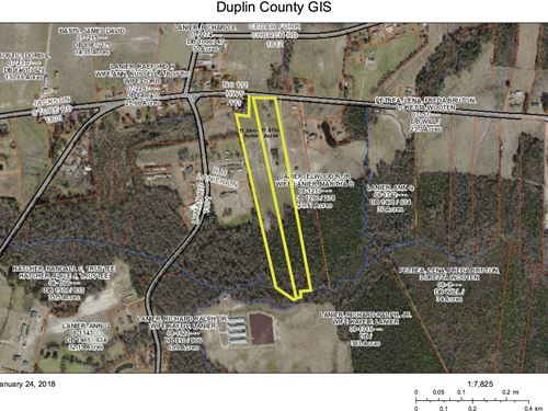 Hobby Farms Or Horses 2 Tracts : Chinquapin : Duplin County : North Carolina