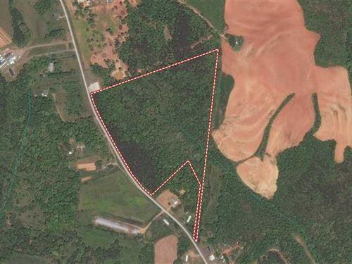 28.7 Acres Paul Payne Store Road : Stony Point : Alexander County : North Carolina