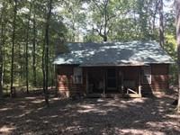 30 Acres And Custom Cabin W/Electr : Scotland : Van Buren County : Arkansas