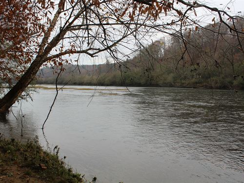 Hunting Retreat On Tallapoosa River : Wadley : Randolph County : Alabama
