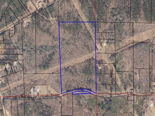 21.90+/- Acre Home Site Alex City : Alexander City : Tallapoosa County : Alabama