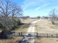 92.8 Ac - Ranch & Home : Iola : Grimes County : Texas