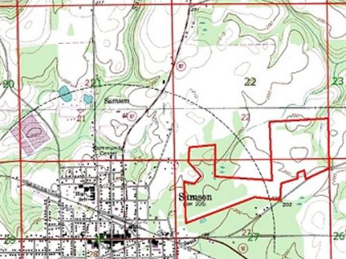 172 Ac Hunting Land Near Samson : Samson : Geneva County : Alabama