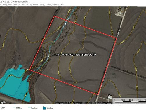44+ Acres, Content School Rd : Temple : Bell County : Texas